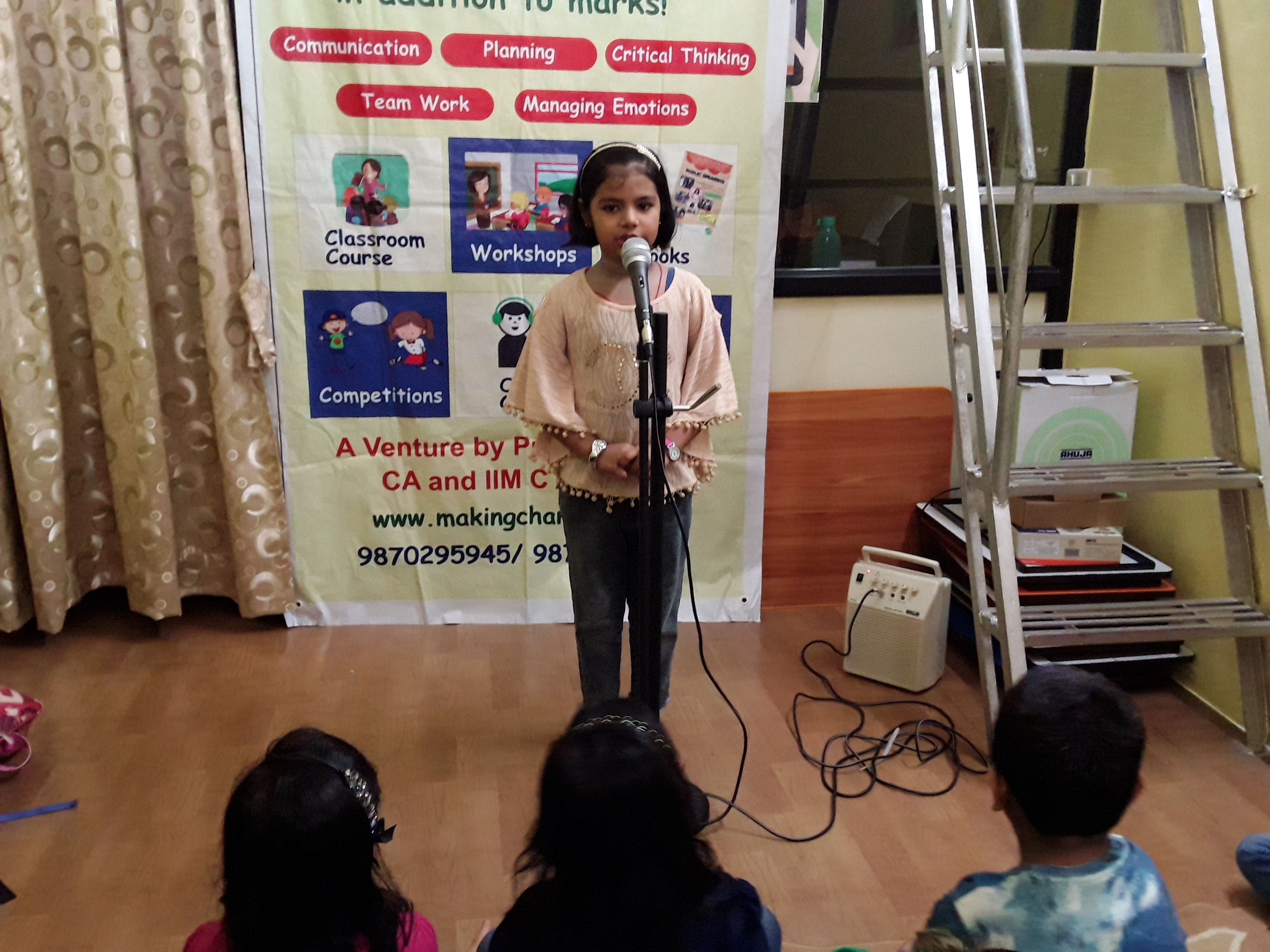 Public Speaking Course - 6 to 8 yrs